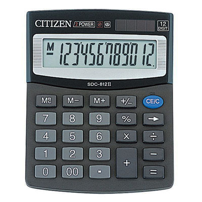 Калькулятор Citizen SDC-812