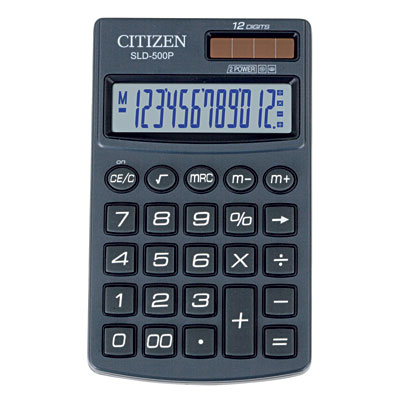 Калькулятор Citizen 500 P